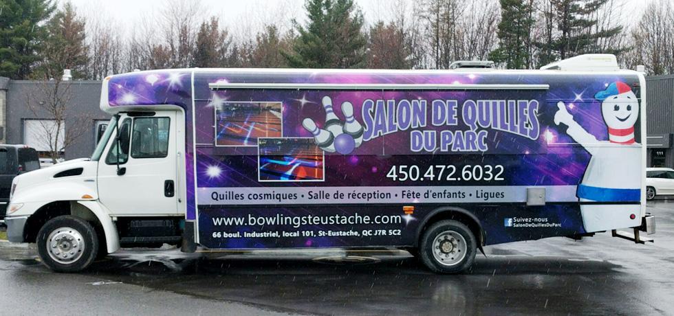 Autobus Salon de quilles du Parc