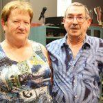 Le gérant du Salon de quilles du Parc, Philippe Proulx, avec sa conjointe Madeleine Bélisle.