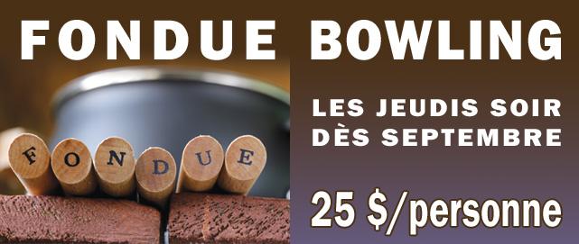 Fondue Bowling Une
